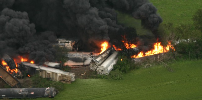 Union Pacific Train Derailment